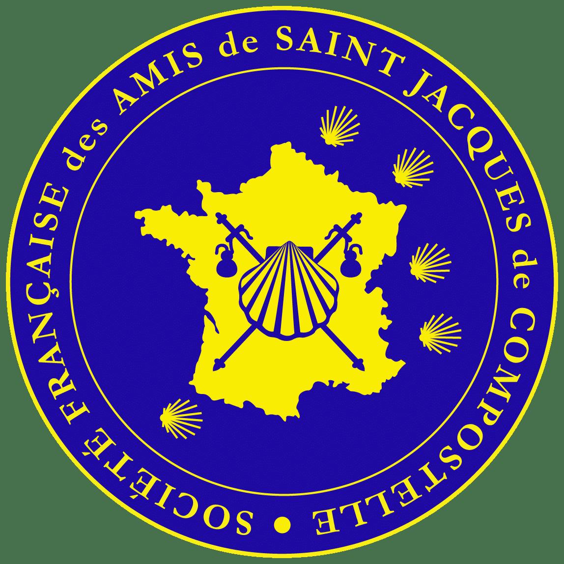 Logo Société Française des Amis de Saint-Jacques de Compostelle